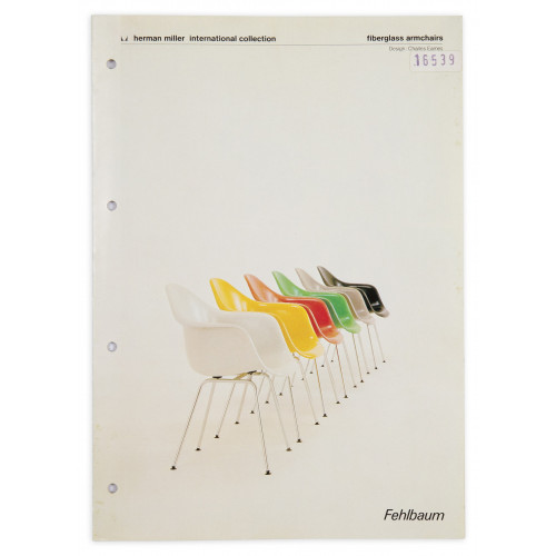Fiberglass Armchairs – Fehlbaum
