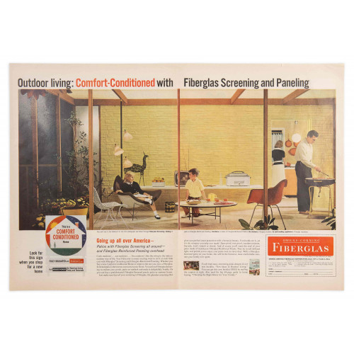Owens Corning Dbl Page - 1950's