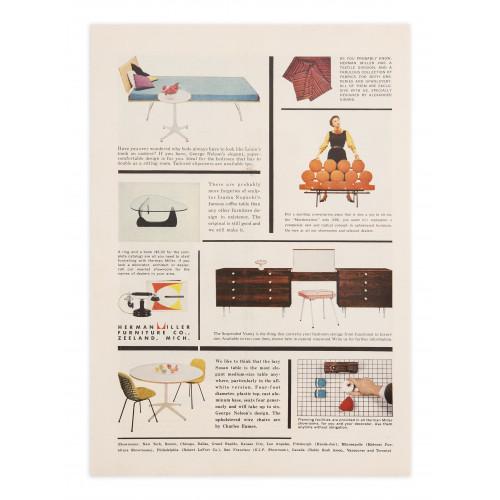 Herman Miller Multi Ad - 1955