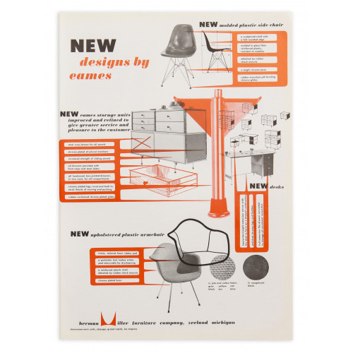 New Designs by Eames - 1951