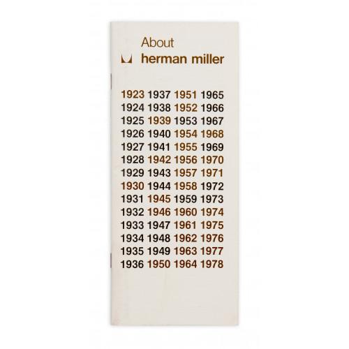 About Herman Miller Timeline - 1978