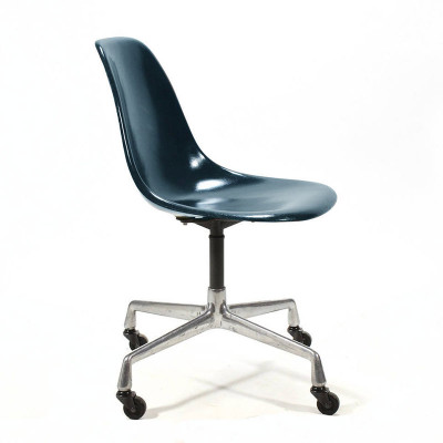 EC430 Eames Universal base fiberglass work chair