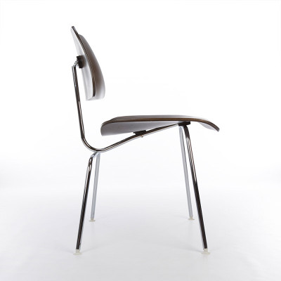 Later Eames DCM Chair In Side Profile