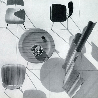 Eames Plywood Furniture Range