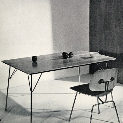DCM With DTM Table - Original Herman Miller Advert