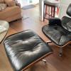 Brown 1964 Herman Miller Eames Lounge Chair & Ottoman thumbnail