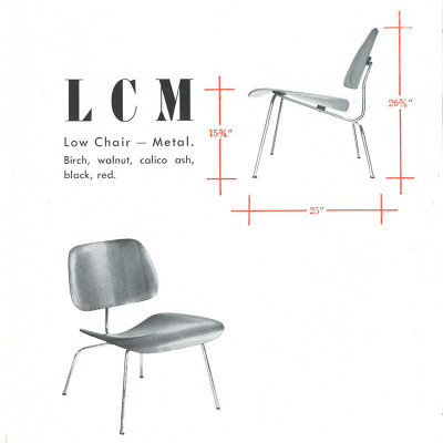 1948 Original Vintage LCM Brochure Snippet