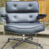Black 2021 Vitra Eames Time Life Lounge Chair thumbnail