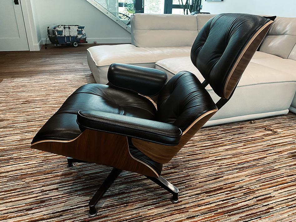 2012 Herman Miller Eames Lounge Chair & Ottoman