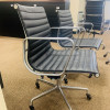Black 2008 Herman Miller Eames Alu Group Low Back Side Chair thumbnail
