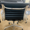 Black 2008 Herman Miller Eames Alu Group Low Back Side Chair thumbnail