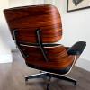 Black 2019 Herman Miller Eames Lounge Chair & Ottoman thumbnail