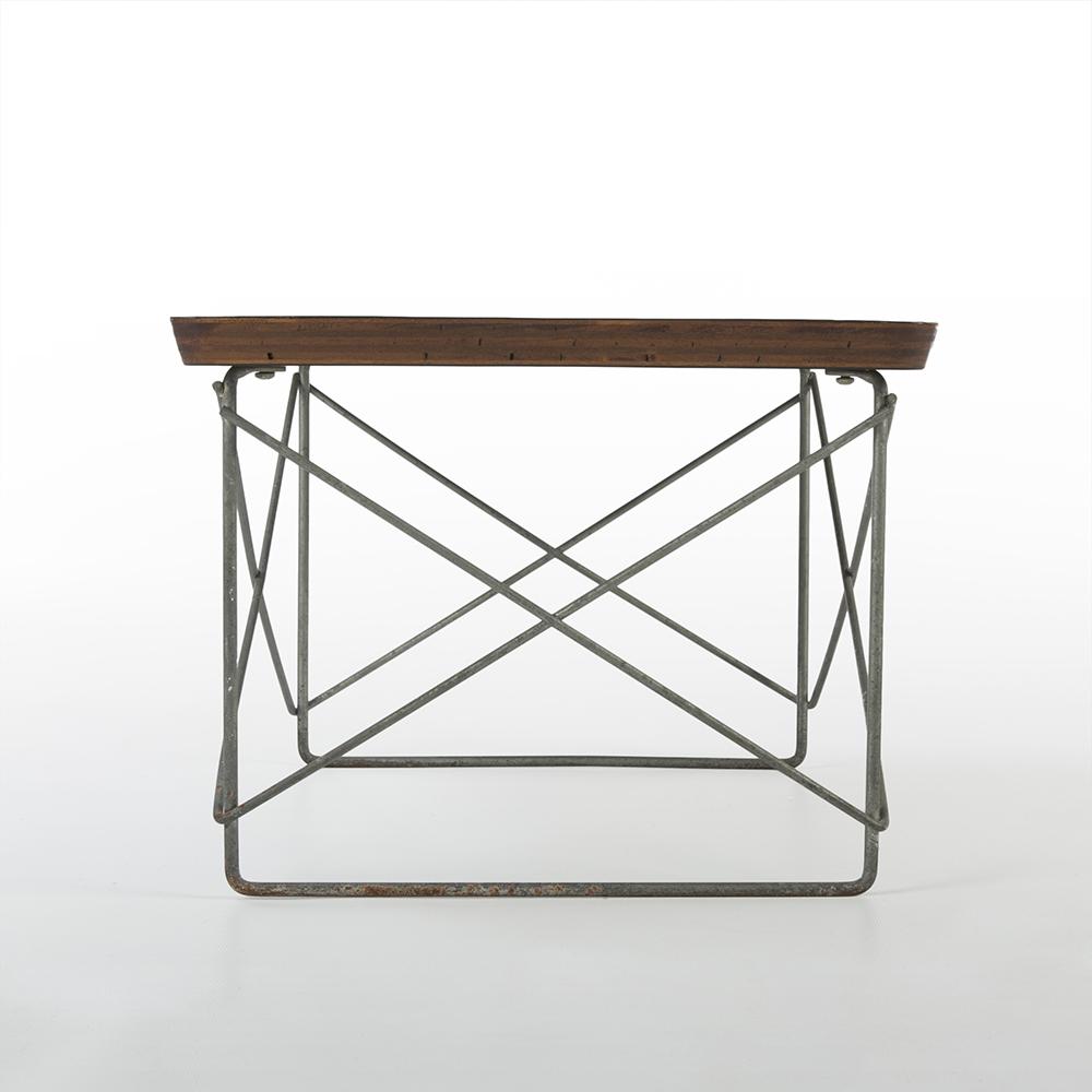 Black 1950s Herman Miller Eames LTR Side Table