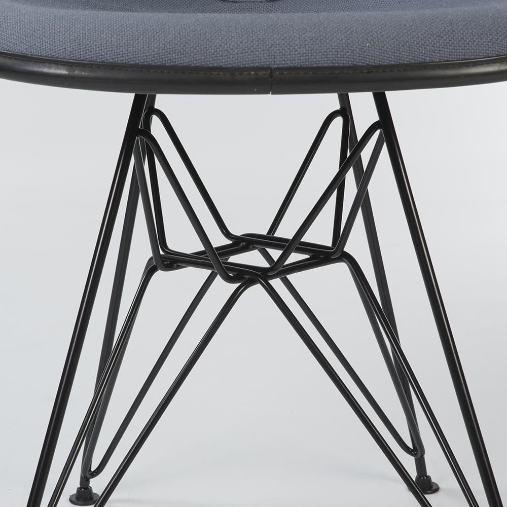 Grey 1970s Herman Miller Eames DSR Eiffel Side