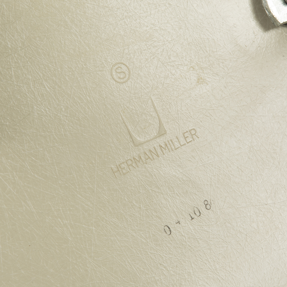 Red 1960s Herman Miller Eames DAX (& Variants) Arm