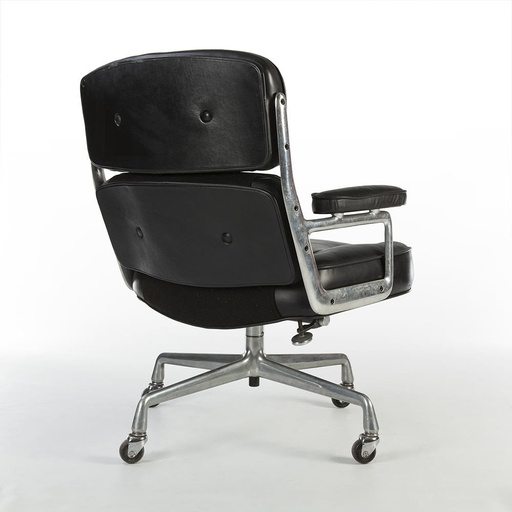 Black 1980s Herman Miller Eames Time Life Executive Chair