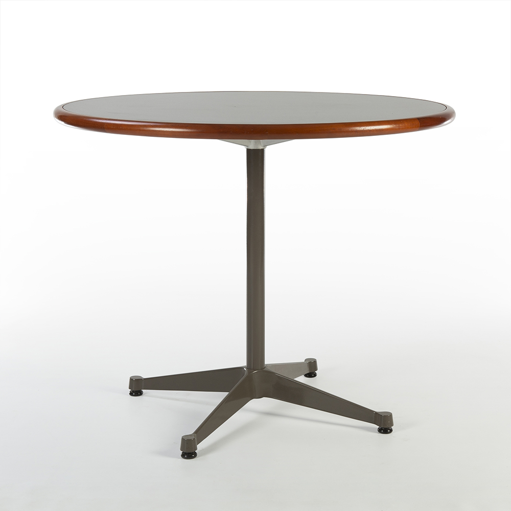 Medium Grey 1980s Herman Miller Eames Contract Base Dining Table & Work Tables