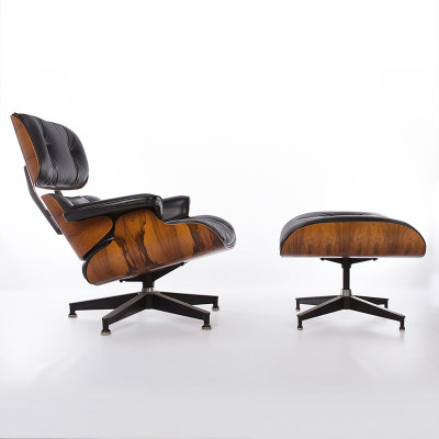Early lounge chair in a beautiful Rosewood veneer