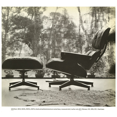 1964 Herman Miller brochure catalog page