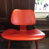 Red 2013 Herman Miller Eames LCW - Ply Lounge Chair Wood thumbnail