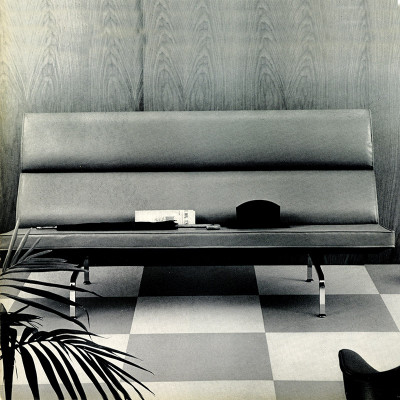 Early 1955 Herman Miller brochure photograph advert.
