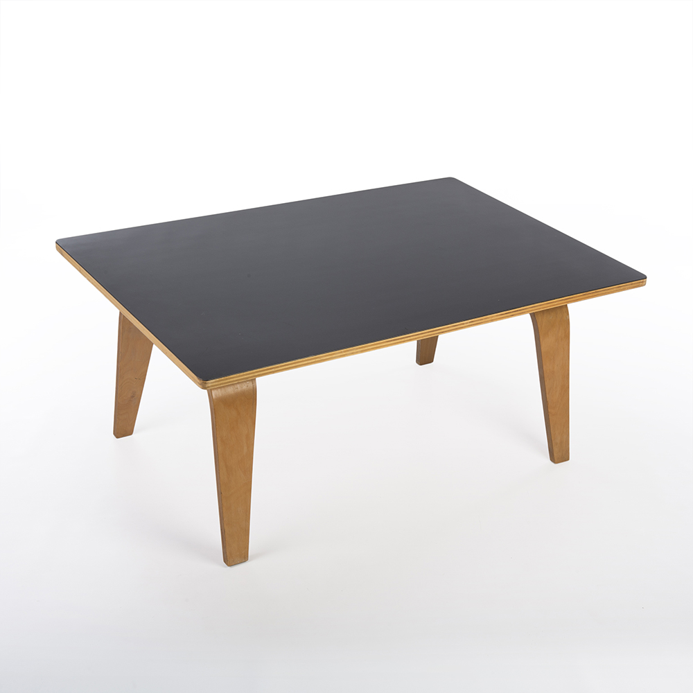 1940s Evans Plywood Products Eames OTW - Oblong Ply Coffee Table Coffee Tables in excellent condition