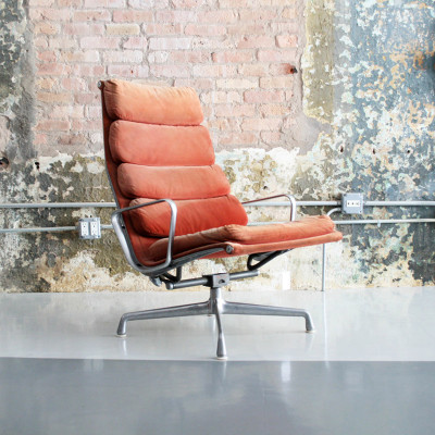 1970's hopsack fabric Soft Pad Recliner Chair (Image Courtesy Circa Modern)