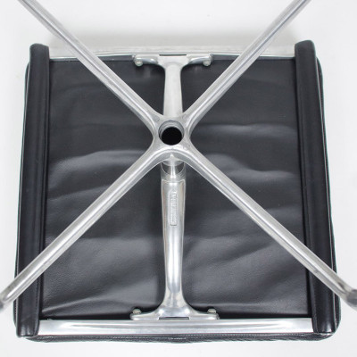Image of the under side of the Soft Pad Ottoman and note the patent stamp in the frame