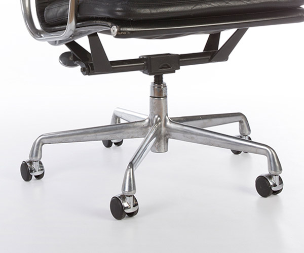 The second generation High Back chair on the 5 star Universal Base and castors
