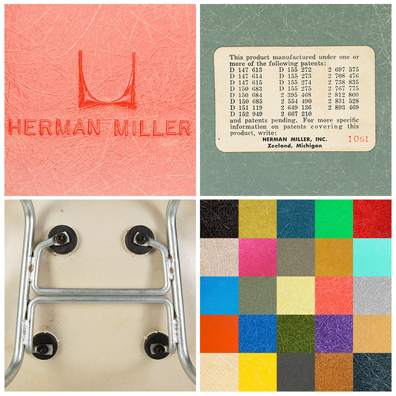1. HM Stamp 2. Patent Label 3. Smaller Mounts 4. Many Colors