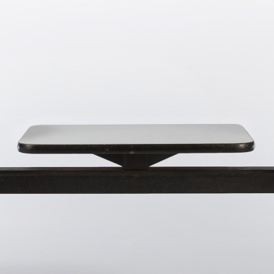 Table section of the Eames Tandem Shell Seating could be added to any place on the bar