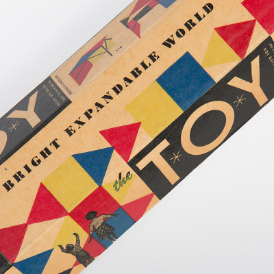 The hexagonal box of 'The Toy' was suggested by retail giant Sears, Roebuck