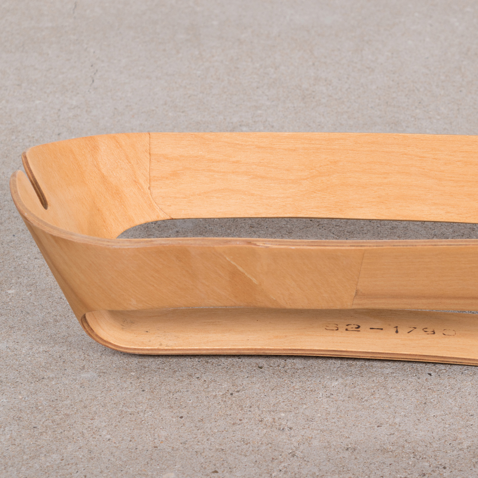 Wooden 1940s Evans Plywood Products Eames War Time Leg Splint Wartime in very good condition