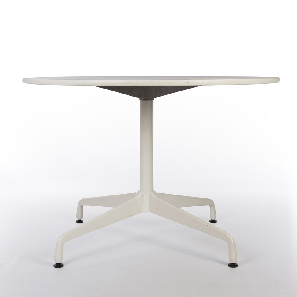 White 2012 Herman Miller Eames Segmented Work & Conference Tables Dining Tables in very good condition