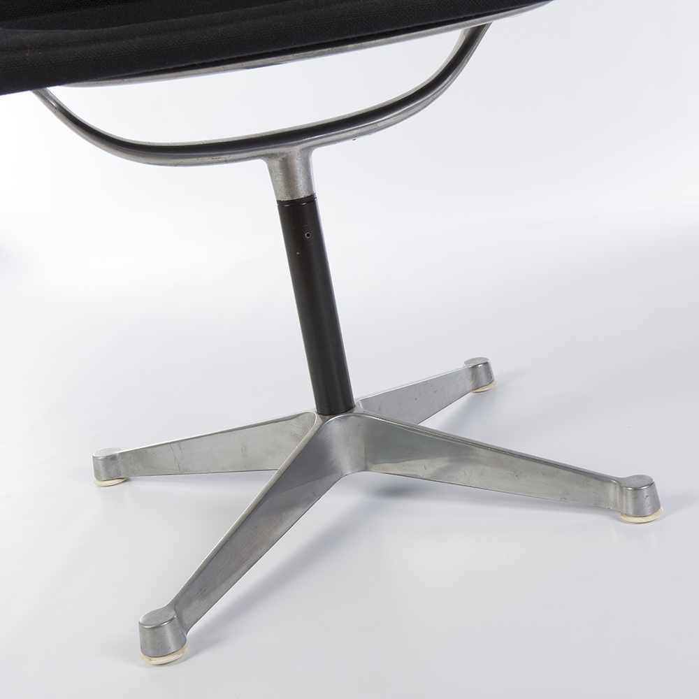Replacement 4 x Eames Office Chair or Vitra Lounge Chair Glides In Black