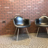 Black 1987 Herman Miller Eames DAX (& Variants) Arm Side Chairs in excellent condition thumbnail