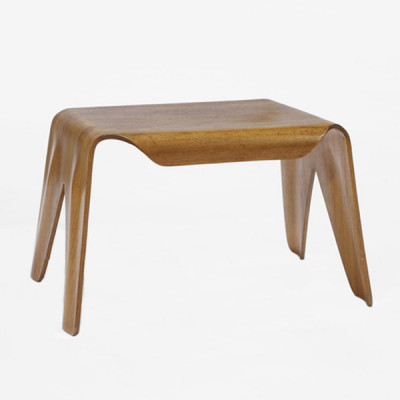 The Eames plywood nested stool made from 5 layers of Birch