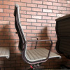 Grey 1993 Herman Miller Eames Alu Group High Back Side Chair Seating in very good condition thumbnail
