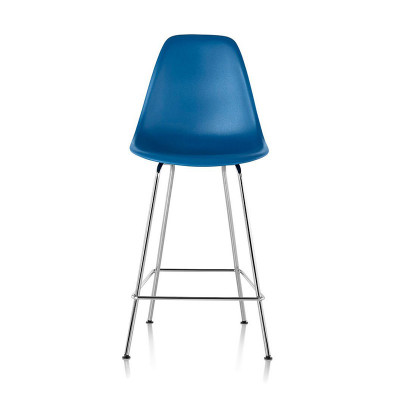 Herman Miller's post 2001 polypropylene chairs are an option for the stools