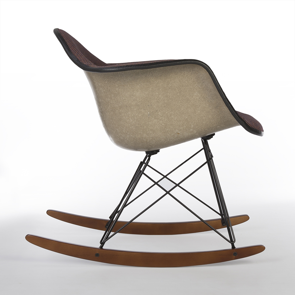 Multi-Color 1980s Herman Miller Eames RAR Rocking Arm Chairs in very good condition
