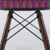 Multi-Color 1980s Herman Miller Eames DSW Dowel Side Chairs in very good condition thumbnail