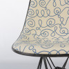 Blue 1970s Herman Miller Eames DSR Eiffel Side Chairs in very good condition thumbnail
