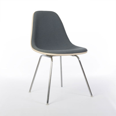Original vintage Eames DSX side chair