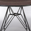Orange 1970s Herman Miller Eames DSR Eiffel Side Chairs in very good condition thumbnail