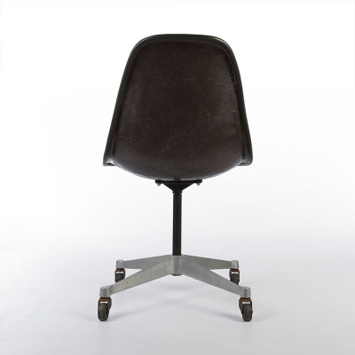 Rear Of Fiberglass PSCC Side Chair