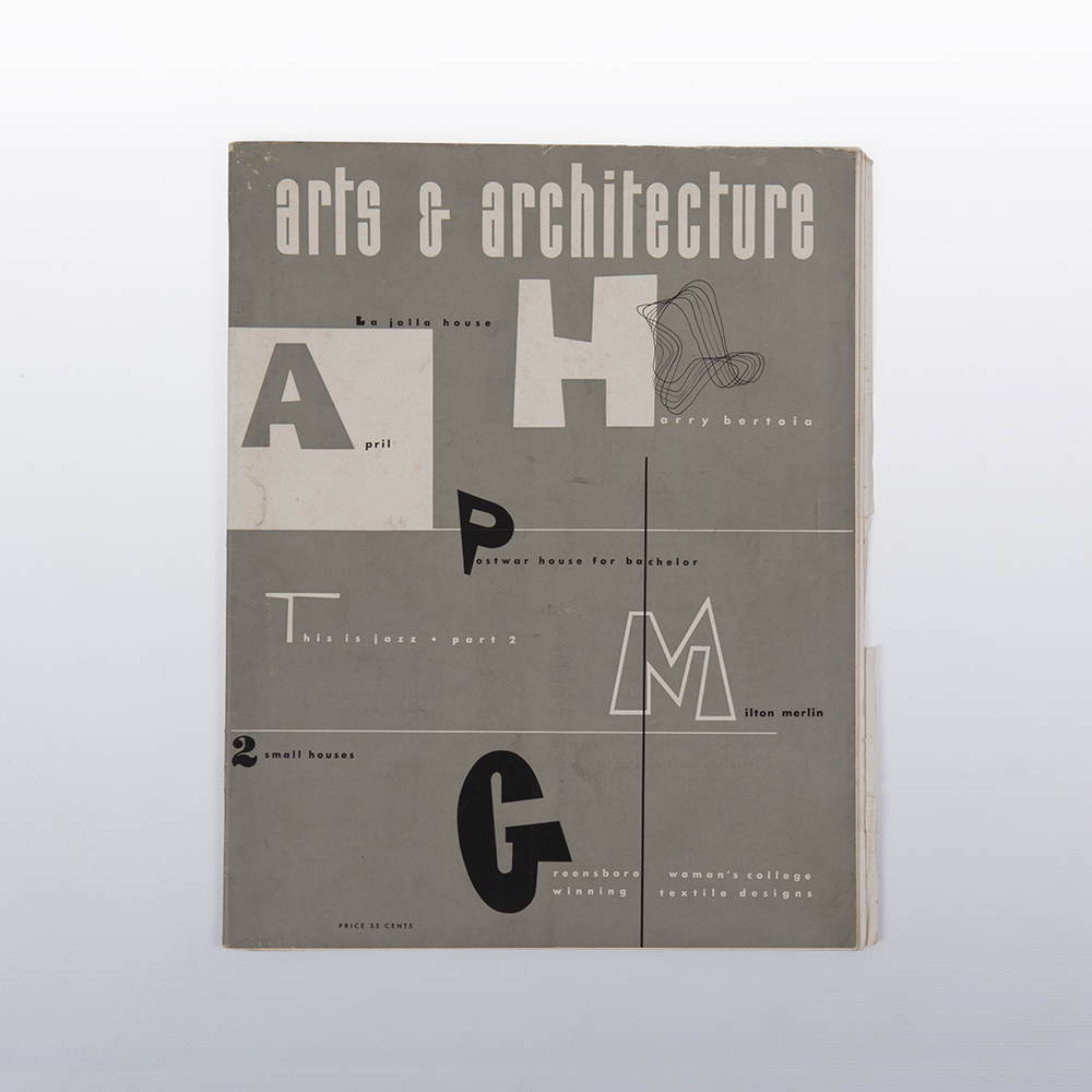 1944 Eames Art & Architecture Ray Eames Cover Artwork in excellent condition