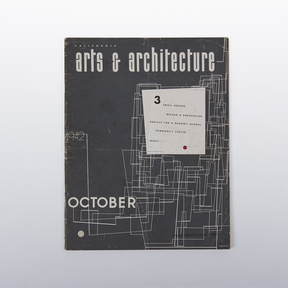 1942 Eames Art & Architecture Ray Eames Cover Artwork in excellent condition