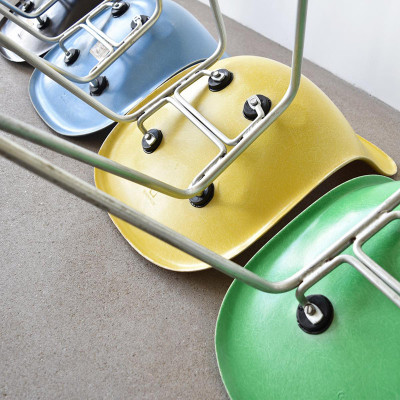 Group of late 1960's DSX chairs on H-Base