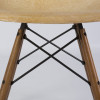 Parchment White 1950s Zenith Plastics Eames DSW Dowel Side Chairs in very good condition thumbnail