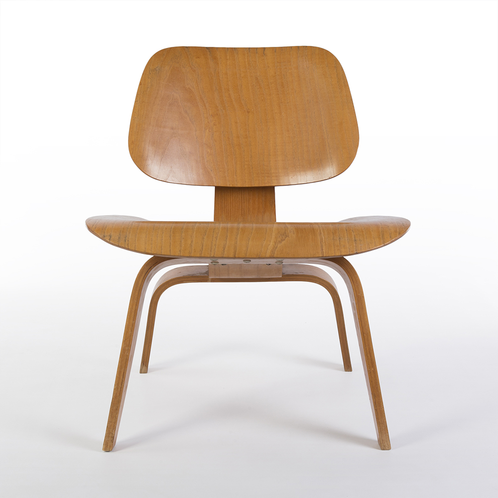 Wooden 1940s Evans Plywood Products Eames LCW - Ply Lounge Chair Wood Chairs in excellent condition